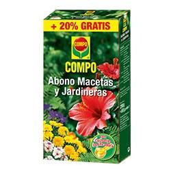 Compo Abono Macetas y Jardineras. ENV. 250+50gr