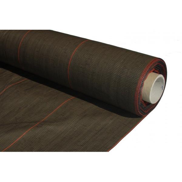 Malla antihierba marrón 86 g/m2