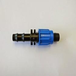 Enlace cinta riego T-Tape a tubería 16 mm