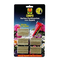 Compo Varita Fertilizante con Guano. ENV. 24+6