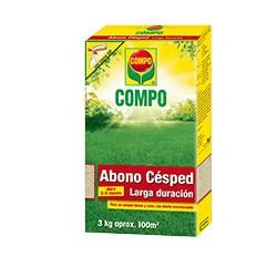 Compo Abono Césped Grandes Jardines. ENV. 3Kg