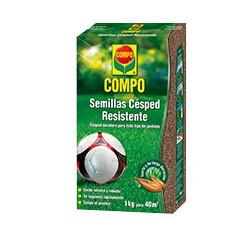Compo Semillas Césped Resistente. ENV. 1Kg