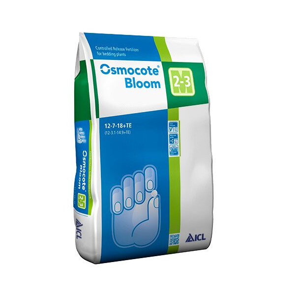 OSMOCOTE BLOOM 2-3 M 12-7-18+TE, ENV...
