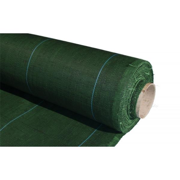 Malla antihierba verde 100 g/m2
